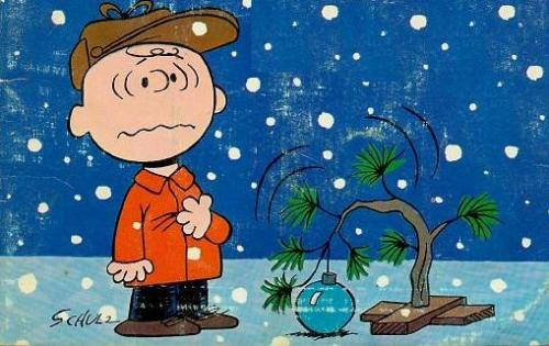 Sad Charlie Brown