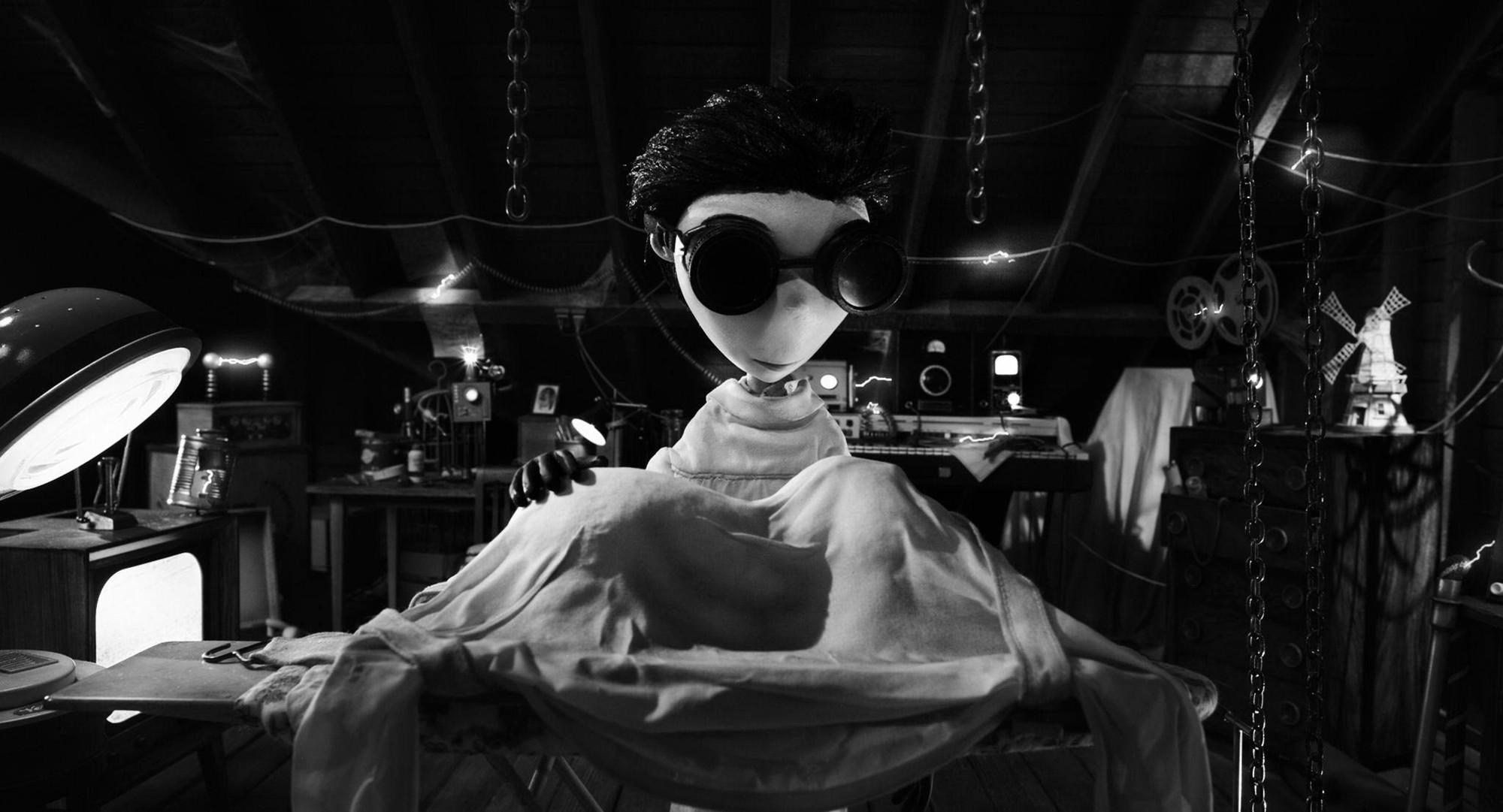Frankenweenie Video Killed The Movie Stars